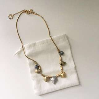 NEW Madewell Mixed Metal Necklace