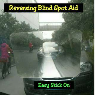Car Van Bus Blind Spot Reversing Aid Stick On