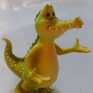 【再殺五折】全世界只有這一隻!有生日有編號有名稱 鱷魚王子Crunch