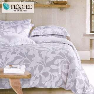 【樂】100%天絲TENCEL 雙人/雙人加大/特大 40支天絲 四件式鋪棉兩用被套床包組&鋪棉兩用被套床罩組(和味)