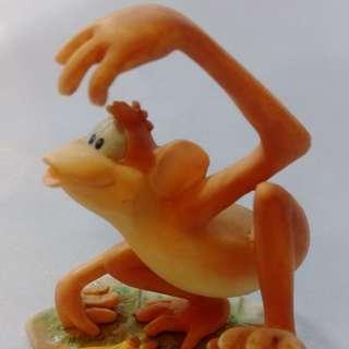 【再殺五折】全世界只有這一隻!有生日有編號有名稱 猴子Moochie