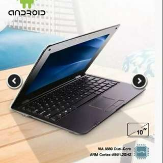 "10 ""Android Mini Laptop"""