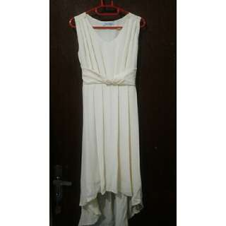 Broken White Dress By Chic Simple