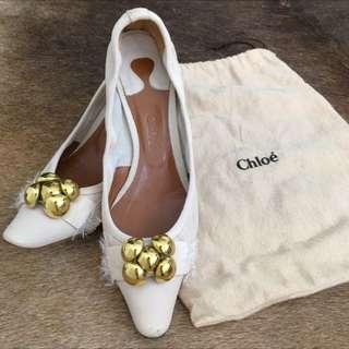 SALE - Chloe Kitten Heels (38)