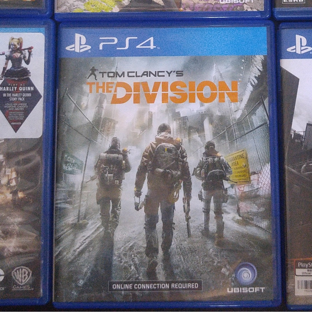 2nd Hand Scratchless PS4 CD The Division
