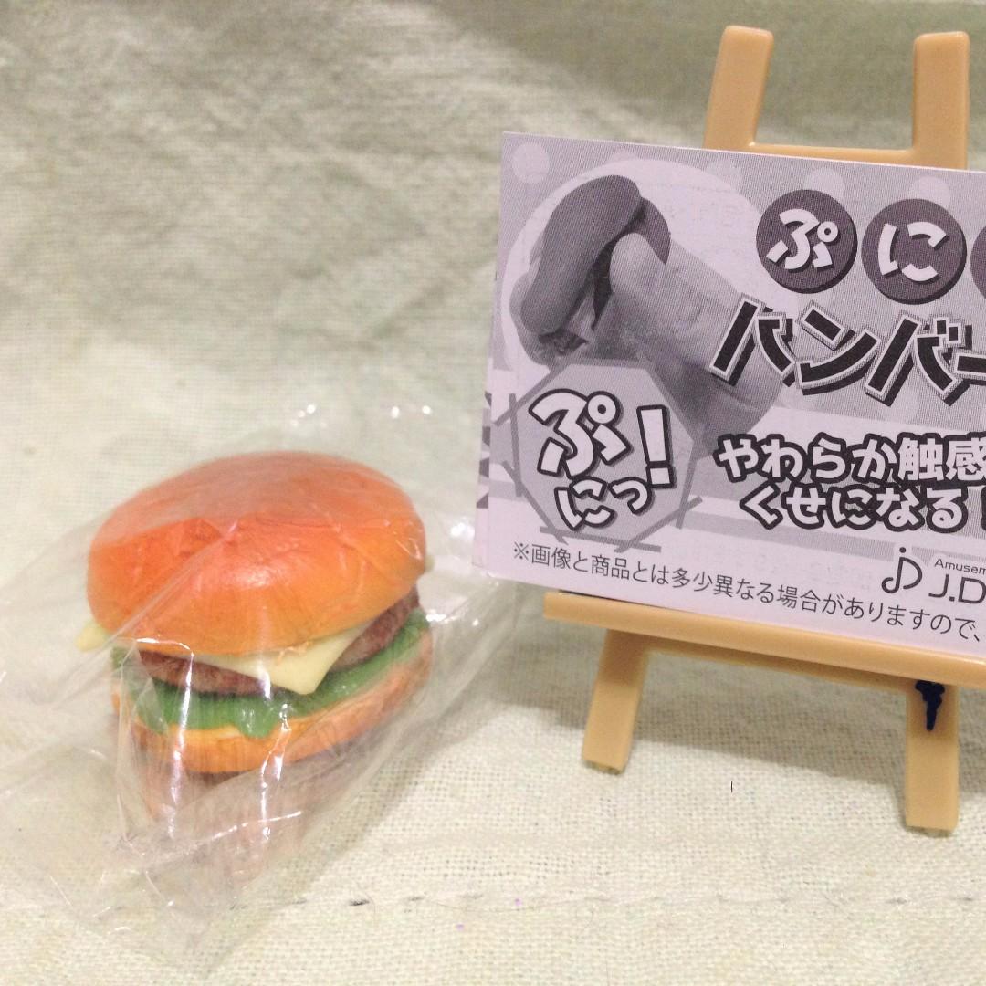 【轉蛋】捏捏速食漢堡造型