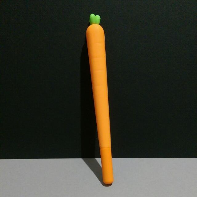 可愛紅蘿蔔 造型筆