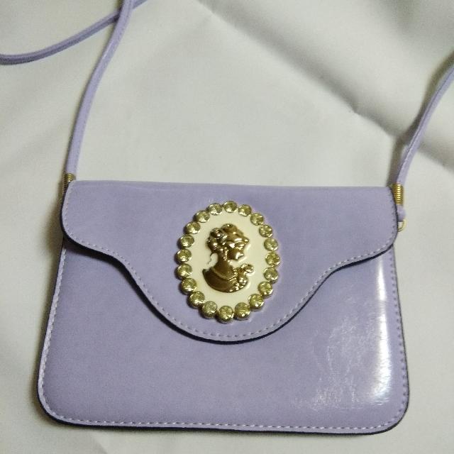 二手 小包包 粉紫