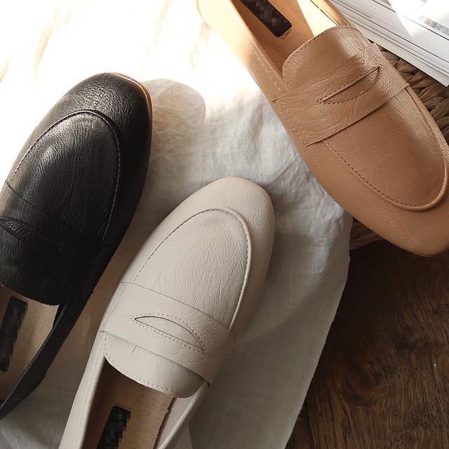 四季可穿 基本款 懶人鞋 樂福鞋 便鞋 簡約好搭配 萬年不敗 低跟鞋