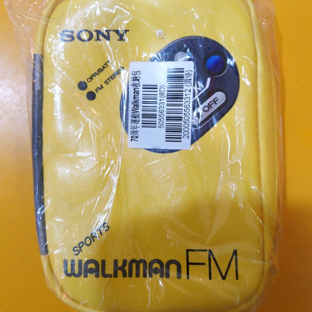 [售] 全新 SONY 70週年 經典運動Walkman 收納包