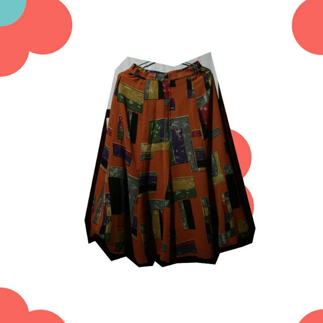 🔴 Abstract Mid Skirt 🔴