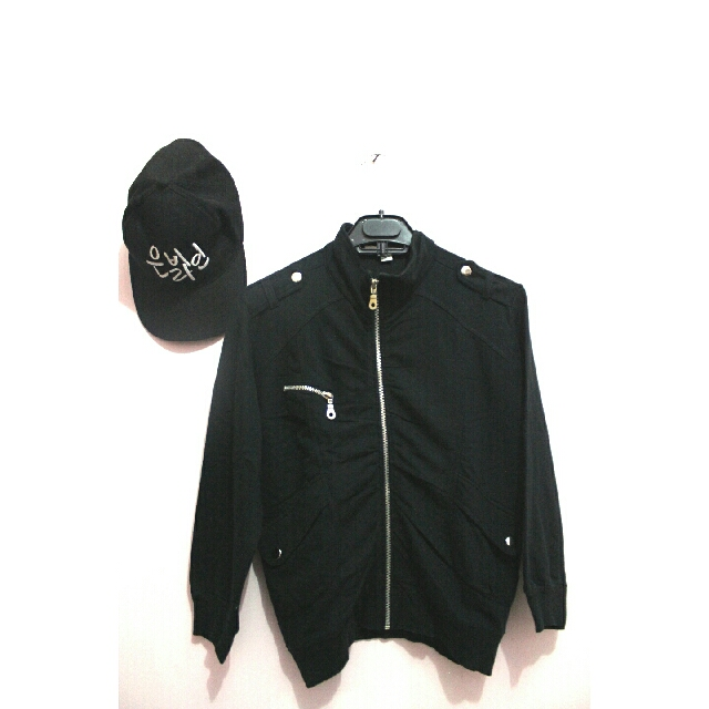 👚 MOGNALIA JACKET BLACK 👚