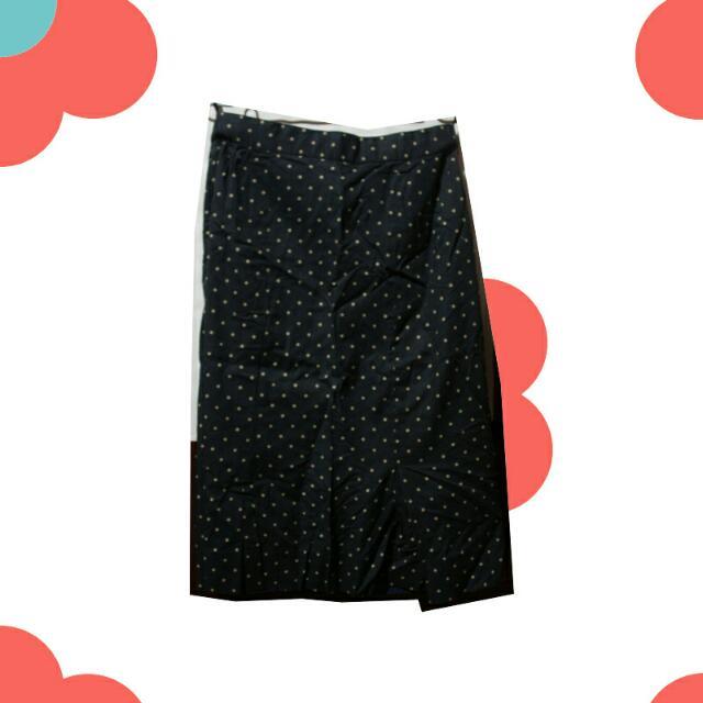 ⭕ Polkadot Mid Skirt ⭕