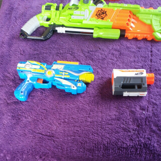 A Verity of Nerf Gun For Children or Adult Or Just For Fun