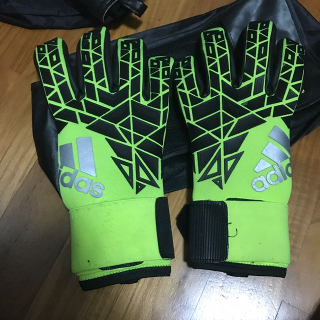 new arrival 61a3d 701bc Adidas ace trans pro goalkeeper gloves, Sports, Sports ...