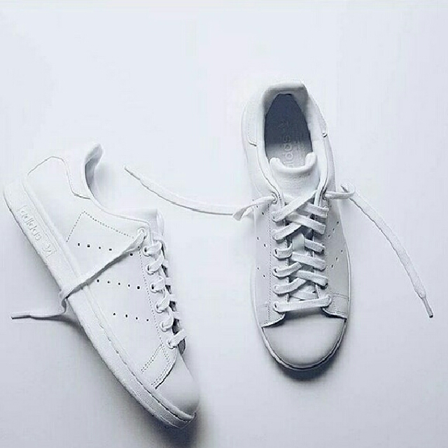 Adidas Stan Smith Triple White Available For Men And Women OEM ... d3079e15e