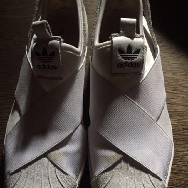 Adidas Superstar slip On White