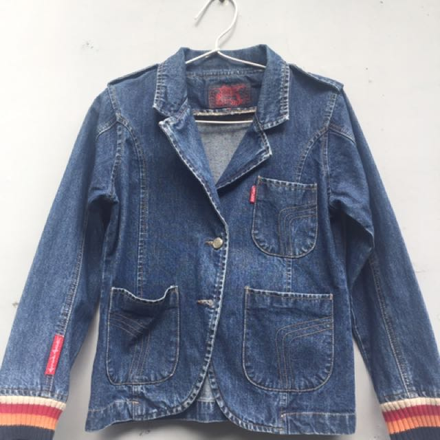 Airplane jeans jacket