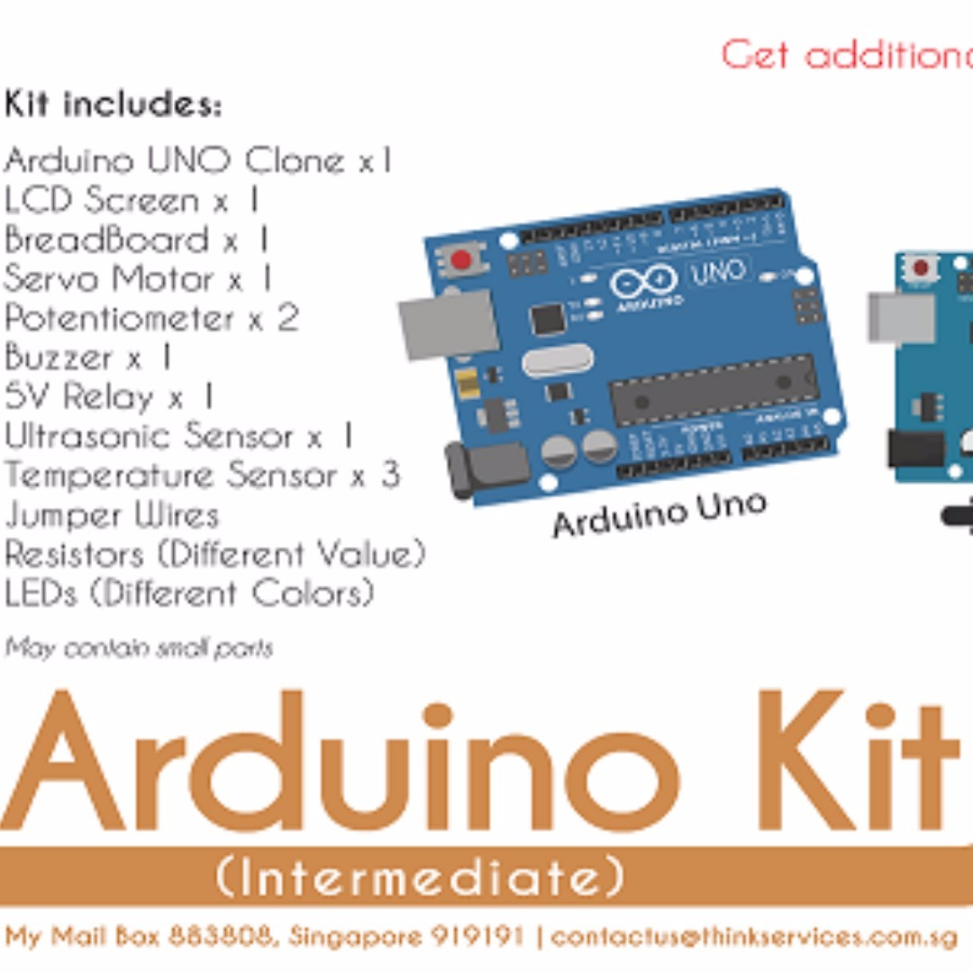 Arduino Kit Set Intermediate Electronics Others On Carousell Breadboard Clone