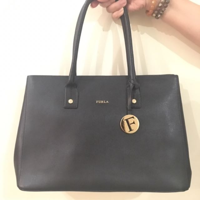 Authentic Furla Linda Handbag