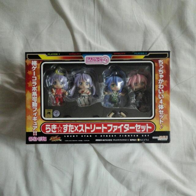 [Authentic] Good Smile Company Puchi Nendoroid Of Lucky Star X Street Fighter