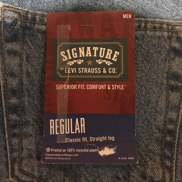 Authentic Signature By Levi Strauss & Co.