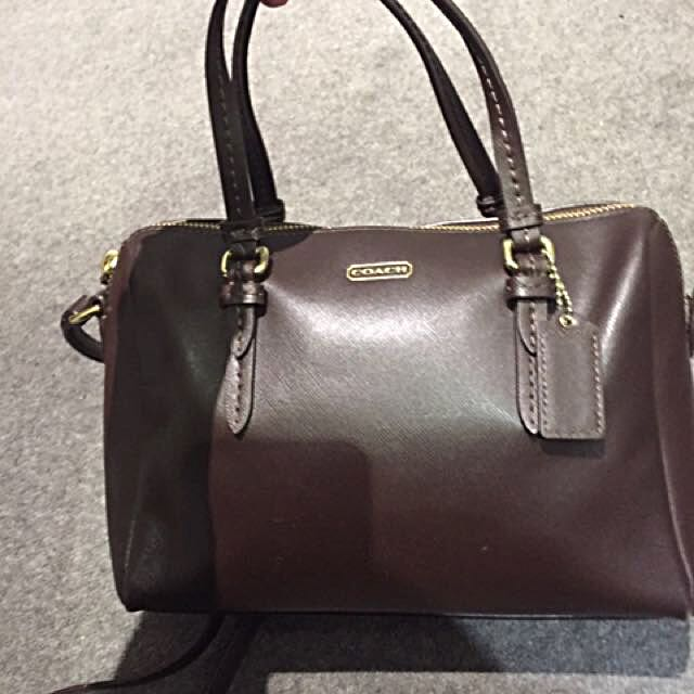 authentic used coach bag