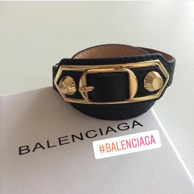 Balenciaga Brecelet. Black Only