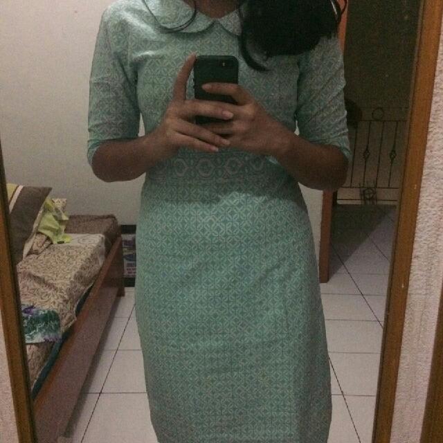 batik shi tosca dress