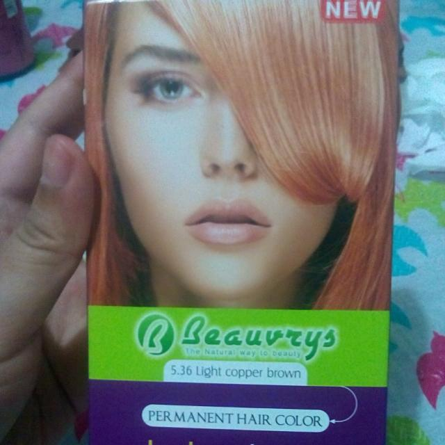 Beauvrys Permanent Hair Color In Light Copper Brown