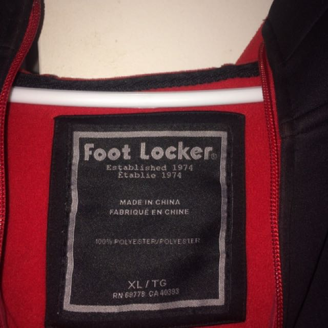 Black and Red footlocker sweater