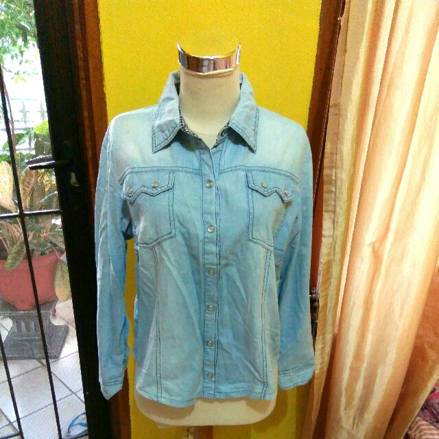 Blouse Jeans Crop