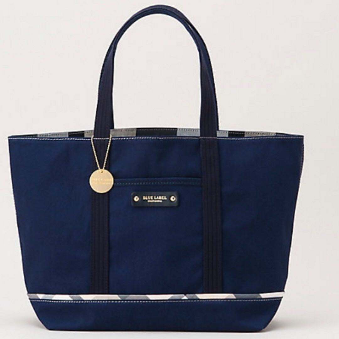 ffca67965dcd Blue Label Crestbridge - Reversible canvas tote (Navy)