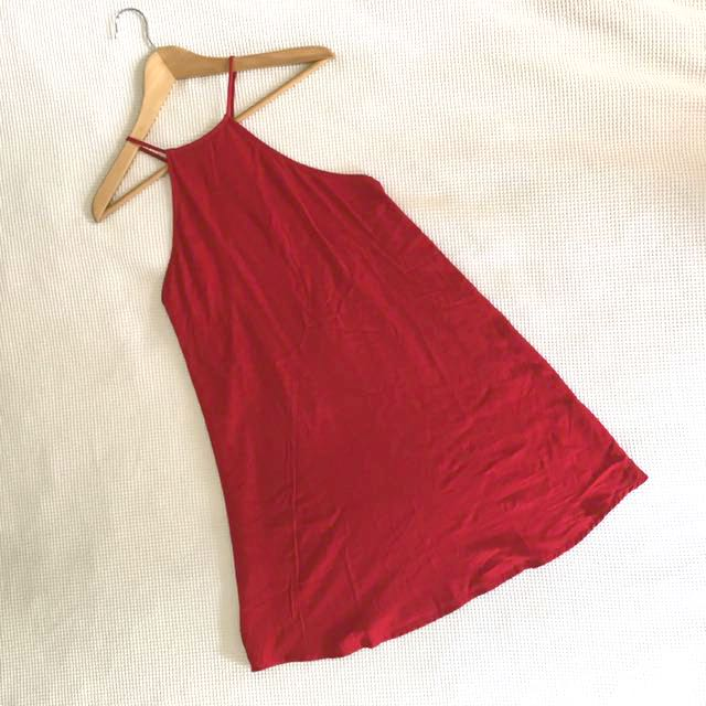 BNWT Alice in the Eve Red Skater Dress