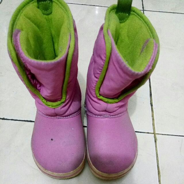 Boots Ori Crocs Pink