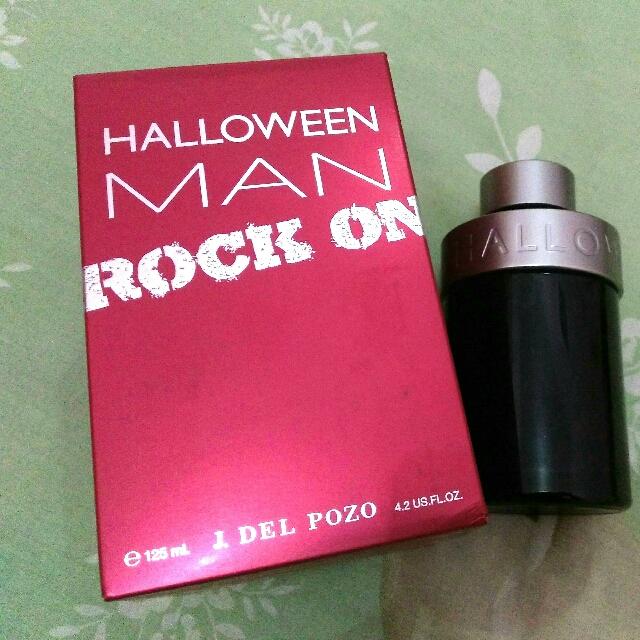 Botol Bekas Parfum Halloween Man