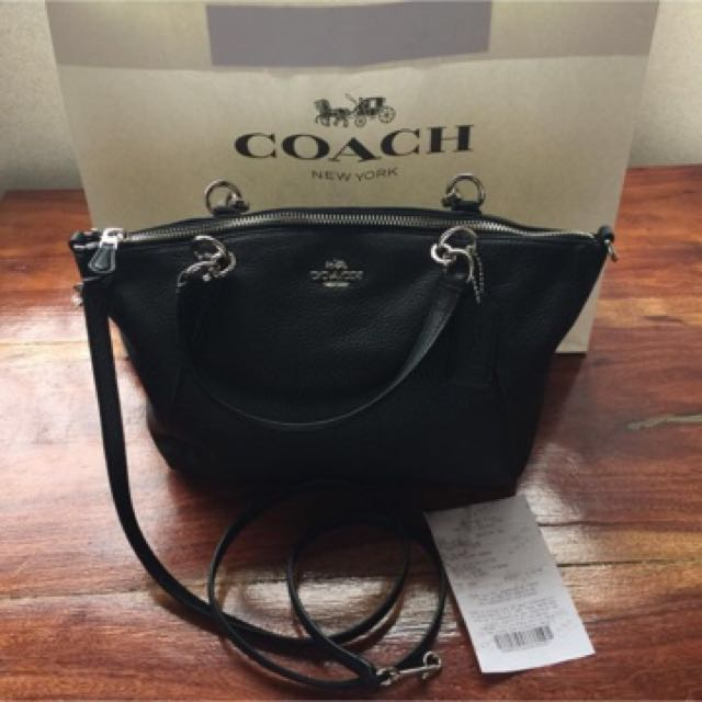 Brandnew Coach Small Kelsy Leather With Receipt