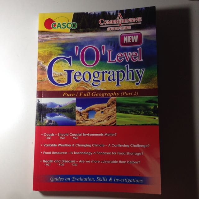 CASCO 'O' Level Geography Guidebook (Part 2)