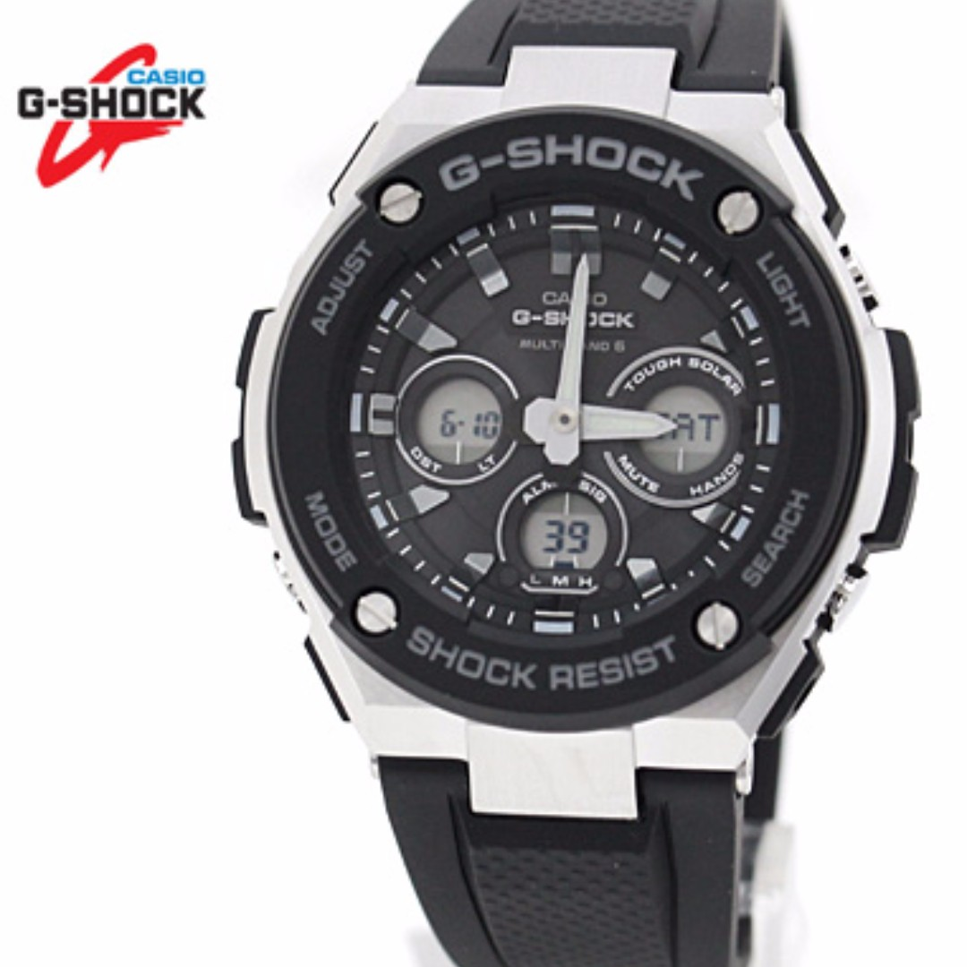 Casio G Shock G Steel Super Illuminator Mid Size G Steel Gsteel
