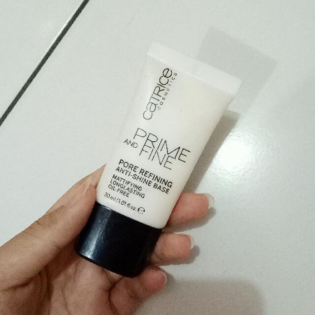 Catrice Prime And Fine Pore Refining Anti-Shine Base Primer