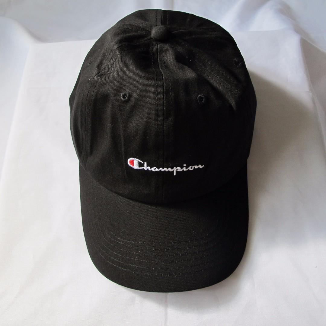 e4ca38611ad37 Champion - Dad Hat (Black)
