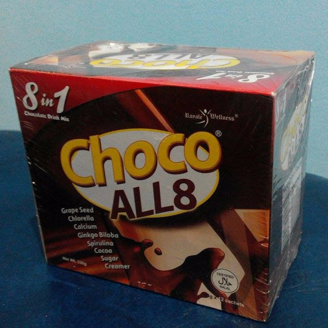 Choco All8 (8 in 1 Chocolate Drink Mix)