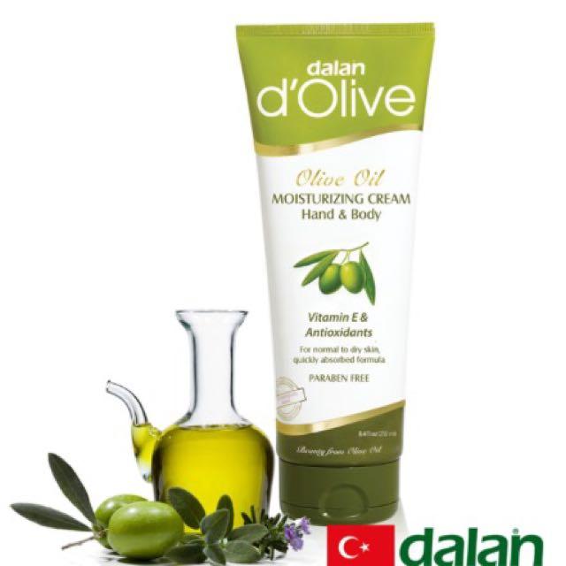【土耳其dalan】橄欖身體護手滋養修護霜