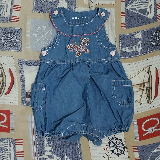 Denim Jumper (0-3 mos)