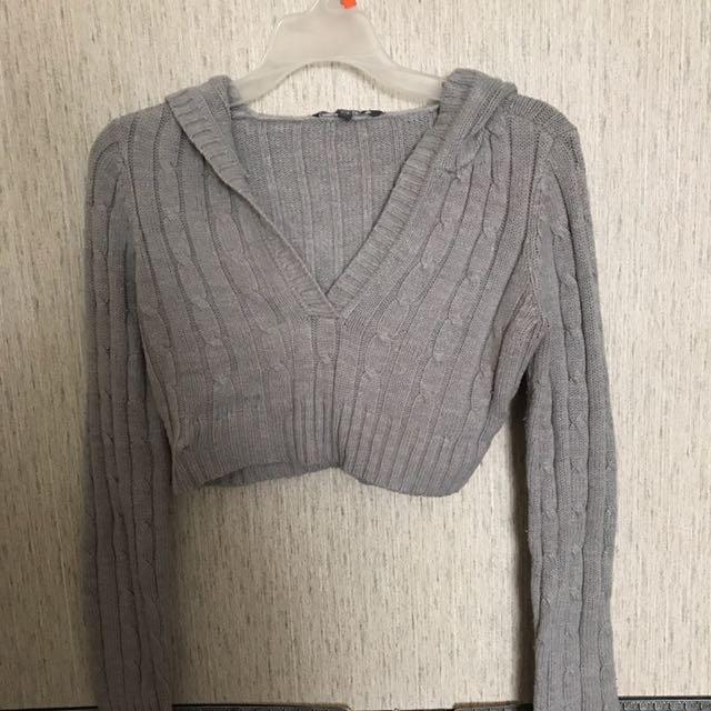 Fall crop sweater
