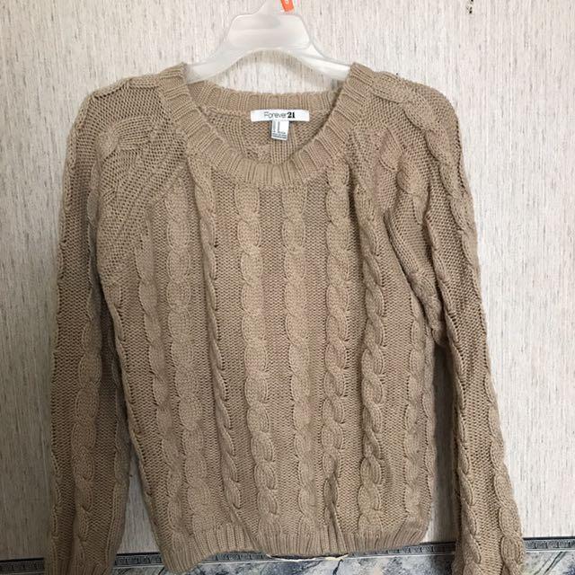 Fall knit sweater