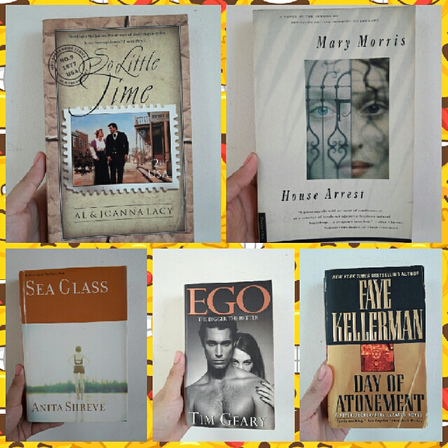 FIVE BOOKS (BUNDLE)