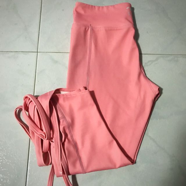 aedf352dde95d Flexi Lexi dancer leggings in pink (size s , fits Lulu 4), Sports, Sports  Apparel on Carousell