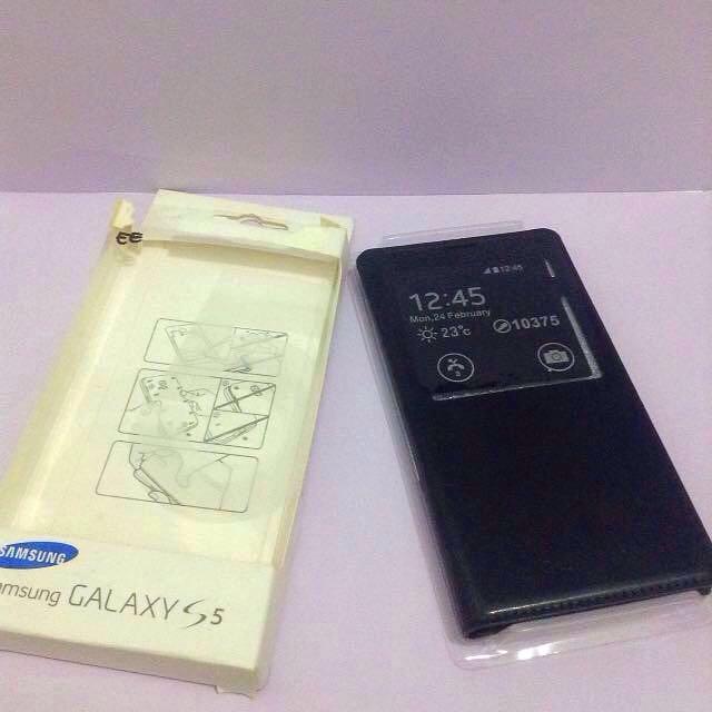 Flip cover case samsung galaxy S5