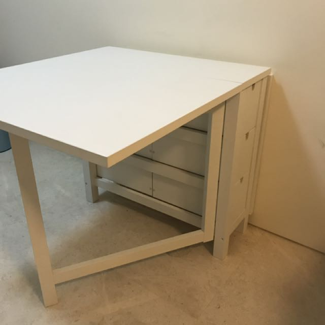 Foldable Table Ikea Norden Furniture